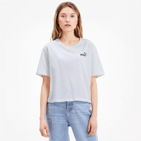 Amplified T-shirt voor dames, Puma White, small