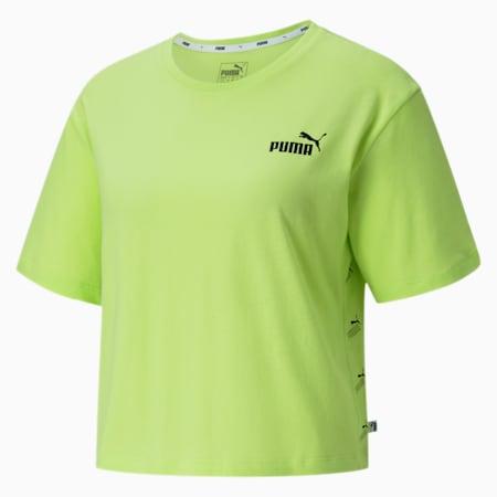 Camiseta para mujer Amplified, Sharp Green- Big Logo, small