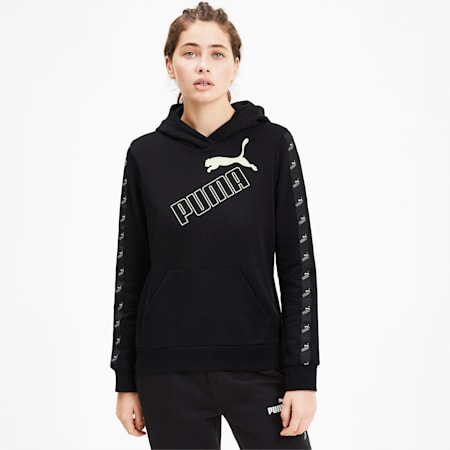 Amplified Women's Hoodie, Puma Black, small