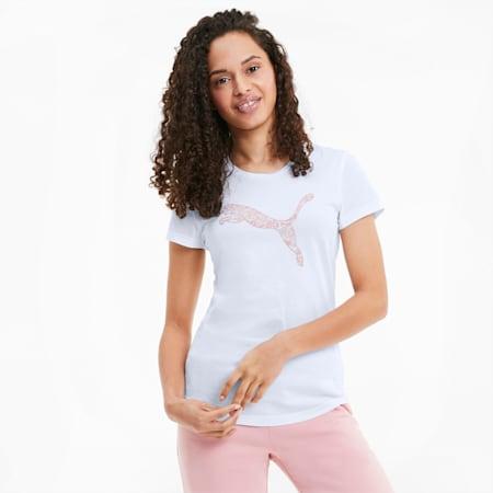 KA Damen T-Shirt, Puma White, small