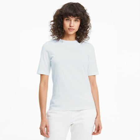 Modern Short Sleeve Women's Tee, Puma White, small-GBR