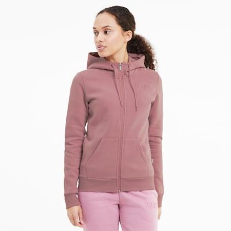 Modern Basics Women's Full Zip Hoodie, Foxglove, small