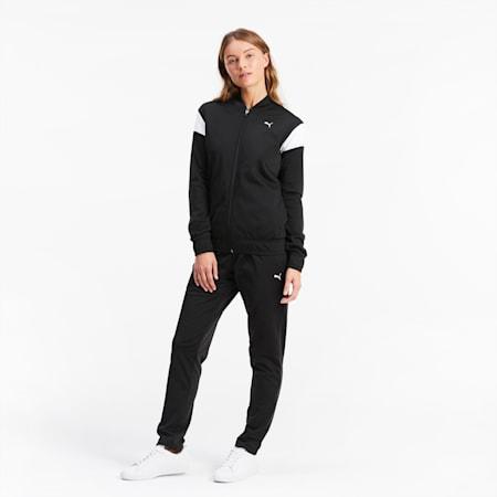 Classics Tricot Damen Trainingsanzug, Puma Black, small