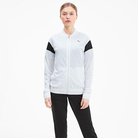 Classics Tricot Damen Trainingsanzug, Puma White, small