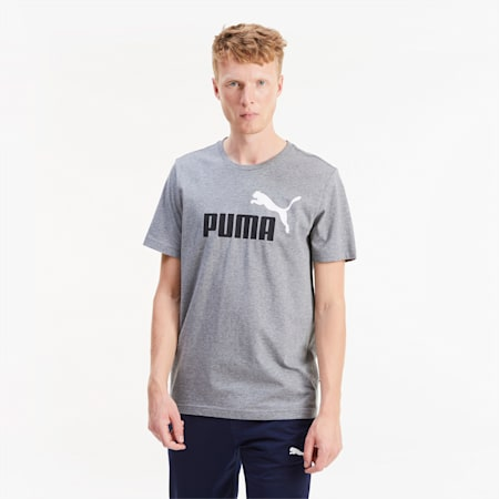 T-Shirt Essentials pour homme, Medium Gray Heather, small
