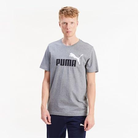 T-shirt da uomo Essentials, Medium Gray Heather, small