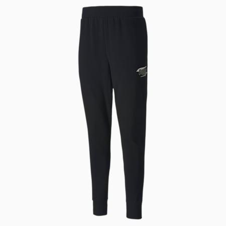 Rebel Bold Men's Pants, Puma Black, small