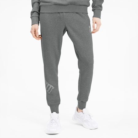 Pantalones Rebel Bold para hombre, Medium Gray Heather, pequeño
