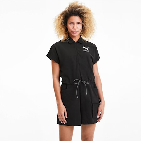 Nu-tility Women's Jumpsuit, Puma Black, small-SEA
