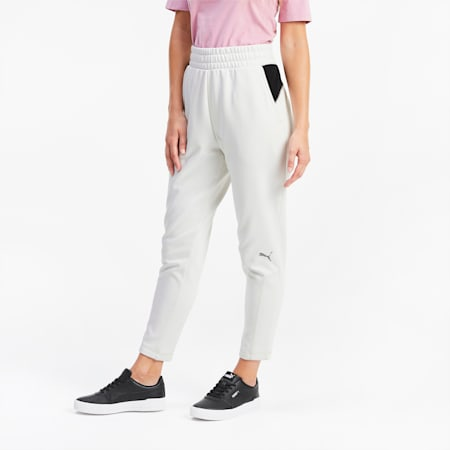 Evostripe sweatpants voor dames, Vaporous Gray, small