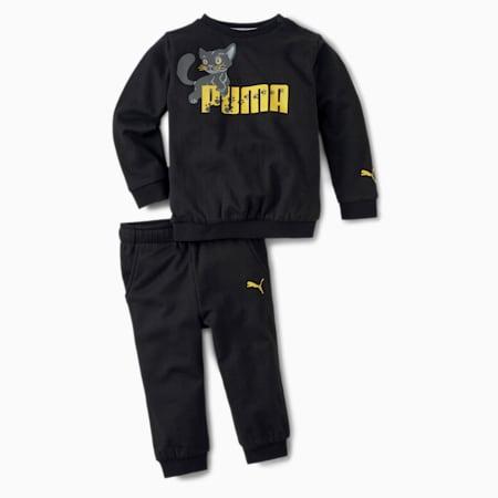 Animals Crew Babies' Jogger, Puma Black, small