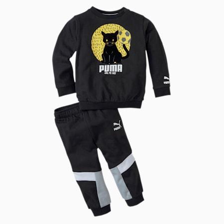 Animals MCS Baby Jogginganzug, Puma Black, small