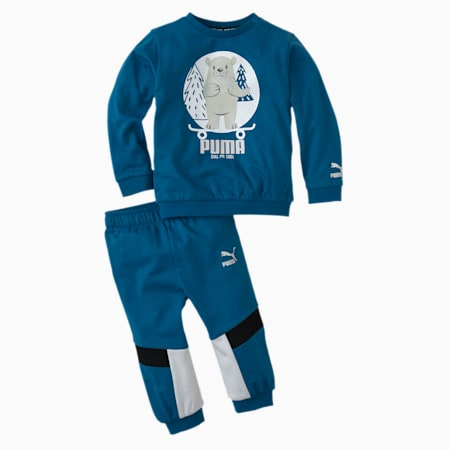 Animals MCS Babies' Jogger, Digi-blue, small
