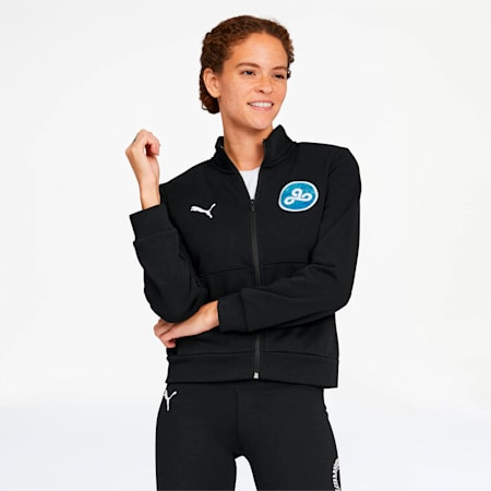 PUMA x CLOUD9 High Score Women's Track Jacket, Puma Black, small