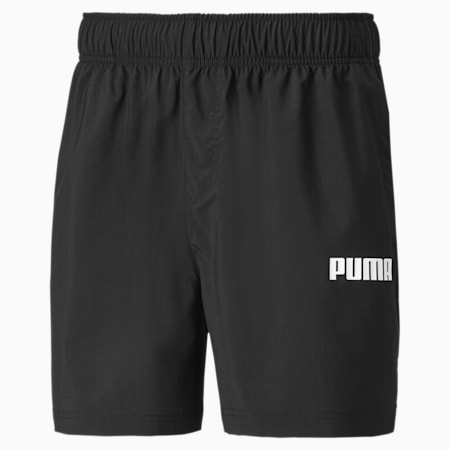 Essentials Woven Men's Shorts, Puma Black, small