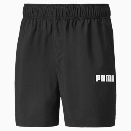 Essentials geweven short voor heren, Puma Black, small