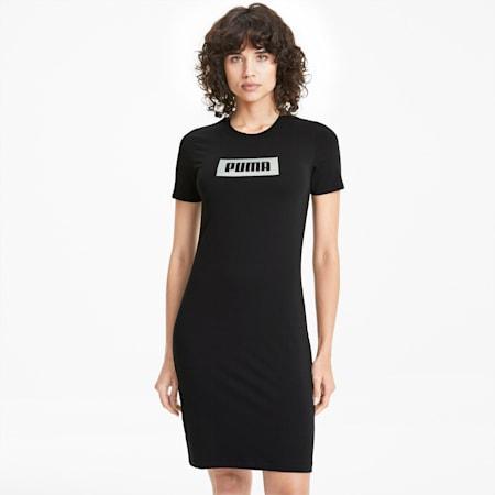 PUMA Summer Women's Dress, Cotton Black, small-SEA