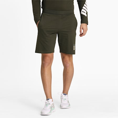 """Rebel CAMO Shorts 9"""", Forest Night, small-IND"""