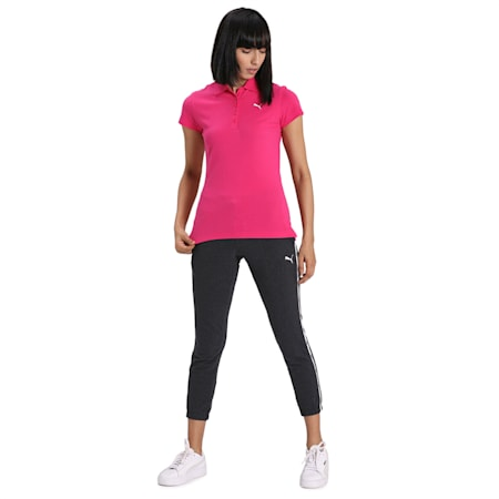 ESS Polo Women's T-Shirt, Beetroot Purple-Cat, small-IND