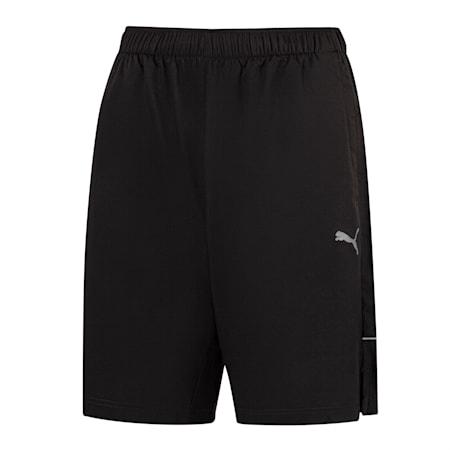 "Active Polyester 8"" Herren Shorts, Puma Black, small"