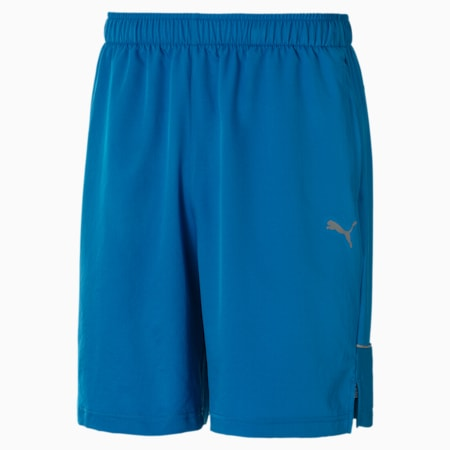 "Active Polyester 8"" Men's Shorts, Indigo Bunting, small"