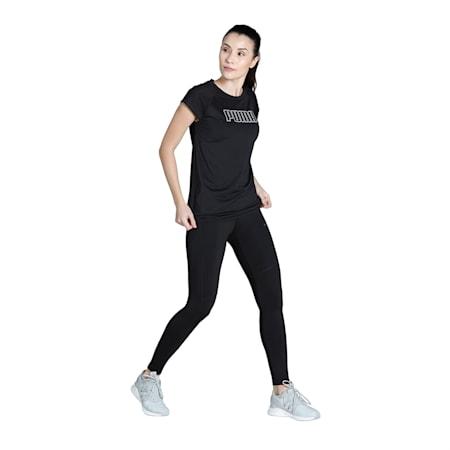 PUMA Active Women's T-shirt, Puma Black, small-IND