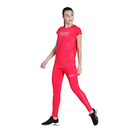 PUMA Active Women's T-shirt, Nrgy Rose, small-IND