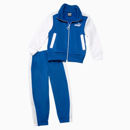 Babies' Track Suit, Team Power Blue-Puma White, small