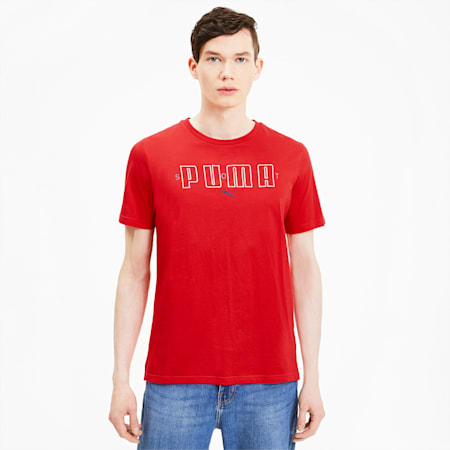 Brand Men's Tee, High Risk Red, small-SEA