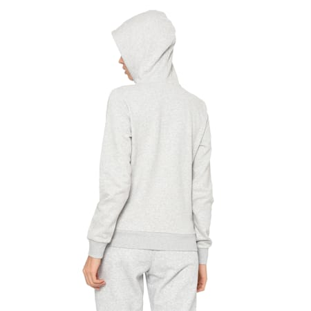 ESS Logo Men's Hooded Jacket, Light Gray Heather, small-IND