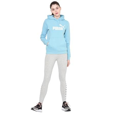 ESS Logo Hoody Sweatshirt, Milky Blue, small-IND