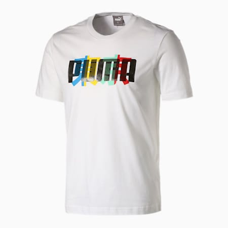 グラフィック スーベニア SS Tシャツ 半袖, Puma White, small-JPN