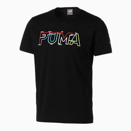 グラフィック スーベニア SS Tシャツ 半袖, Puma Black, small-JPN
