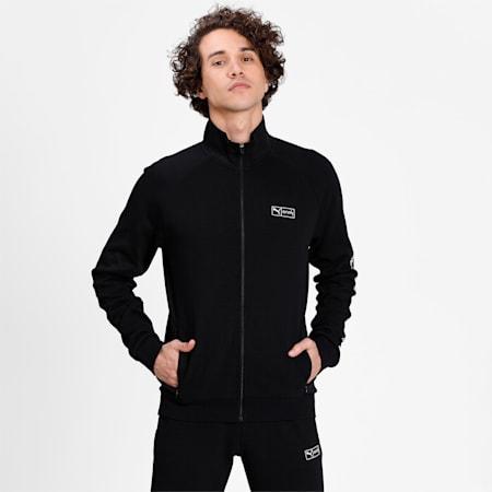 PUMA x Virat Kohli Knitted  Full-Zip Men's  Sweatshirt, Puma Black, small-IND
