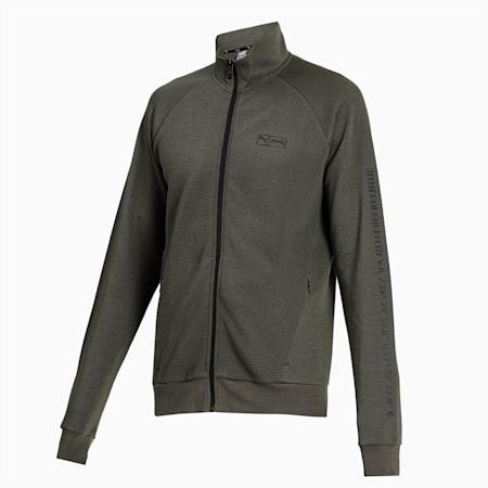 PUMA x Virat Kohli Knitted  Full-Zip Men's  Sweatshirt, Thyme, small-IND
