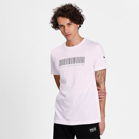 PUMA X Virat Kohli Men's Graphic T-Shirt, Puma White, small-IND