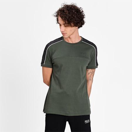PUMA X Virat Kohli Men's Stylised T-Shirt, Thyme, small-IND