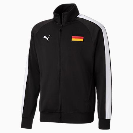 Unisex Track Jacket, Puma Black-Puma White, small