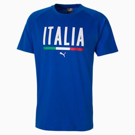 Voetbal uniseks T-shirt, Puma Royal, small