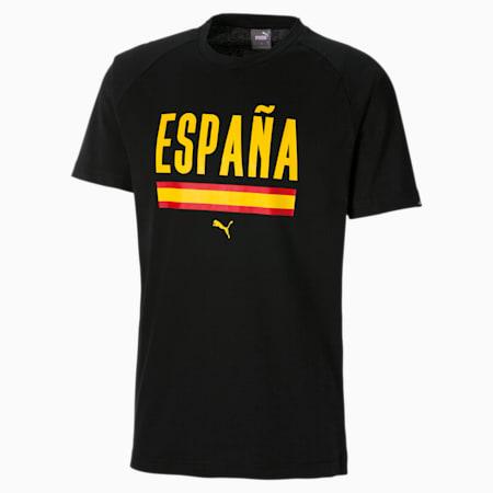 Fußball Unisex T-Shirt, Puma Black, small
