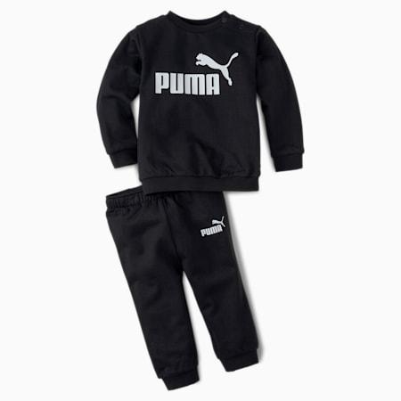 Ensemble de jogging Minicats MCS, bébé + tout-petit, coton noir, petit
