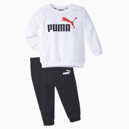 Ensemble de jogging Minicats MCS, bébé + tout-petit, Blanc Puma, petit
