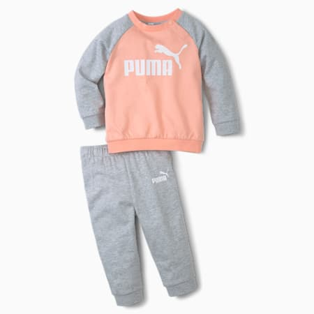 Minicats Essentials Babies Raglan Jogginganzug-Set, Apricot Blush, small