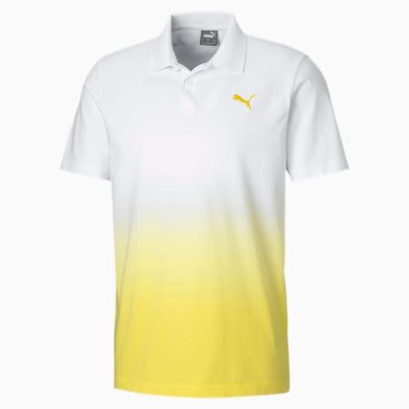 Barwiona męska koszulka polo, Puma White, small