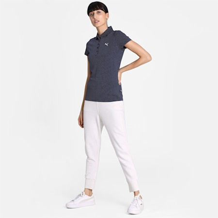 PUMA Style Women's Polo, Peacoat, small-IND