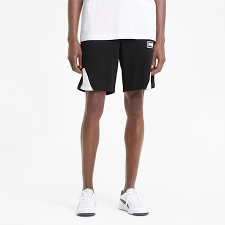 Rebel Men's Shorts, Puma Black, small-GBR