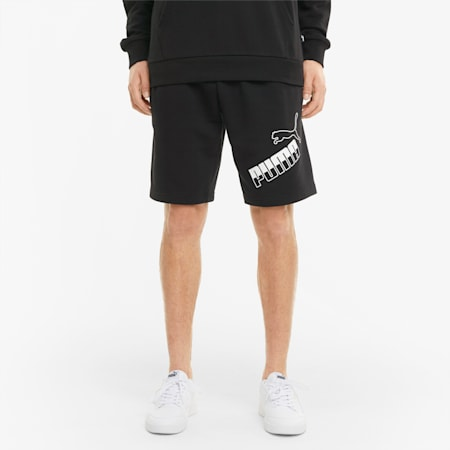 Short met groot logo heren, Puma Black, small