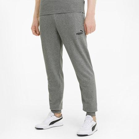 Big Logo Men's Sweatpants, Medium Gray Heather, small