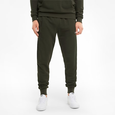 Big Logo Men's Sweatpants, Forest Night, small