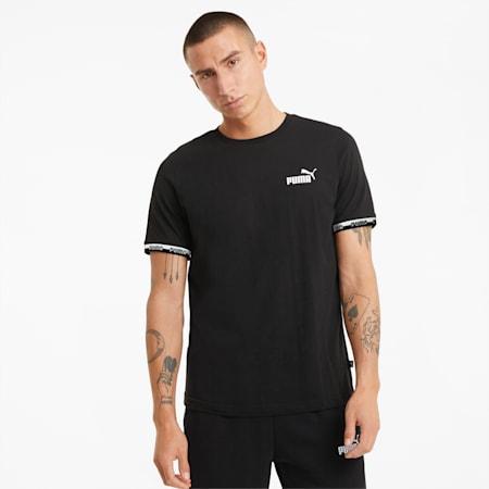 Męski T-shirt Amplified, Puma Black, small